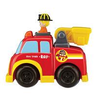 Robocar Poli Push And Go Fire Truck