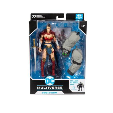 DC McFarlane Build-A Bane 7 Inch Wonder Woman