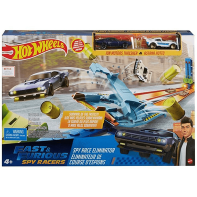 Hot Wheels Fast & Furious Spy Racers Drag Race