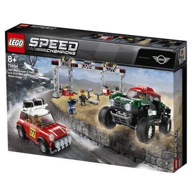 LEGO Speed Champions 1967 Mini Cooper S Rally 75894