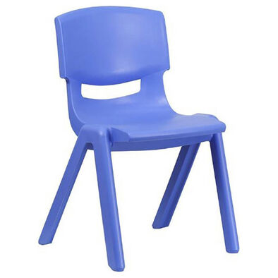 OCIE Deluxe Plastic Kid Chair Blue