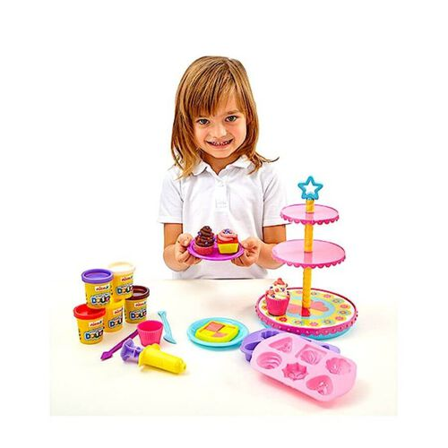 Nick Jr Ready Steady Dough Cupcake Carousel Set