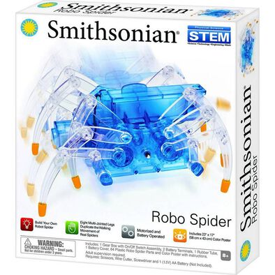 Smithsonian Science Kits Robo Spider