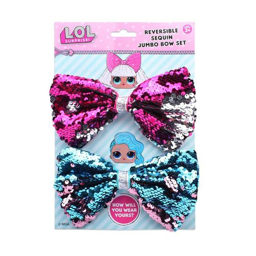 L.O.L. Surprise Reversible Sequin Jumbo Bow Set - Assorted