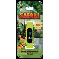Kids Temperature Watch Animal Safari