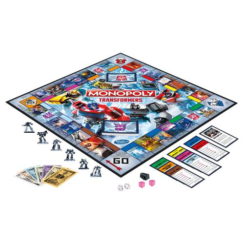 Monopoly Transformers Edition Board Game