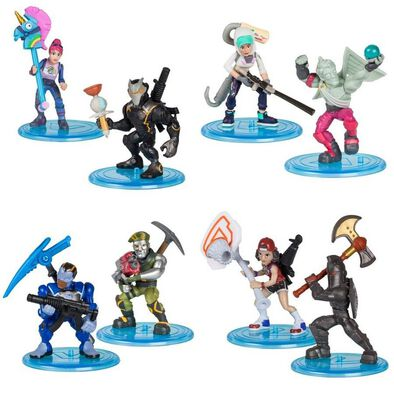 Fortnite Battle Royale Collection Figure Duo Pack Love Ranger and Teknique - Assorted