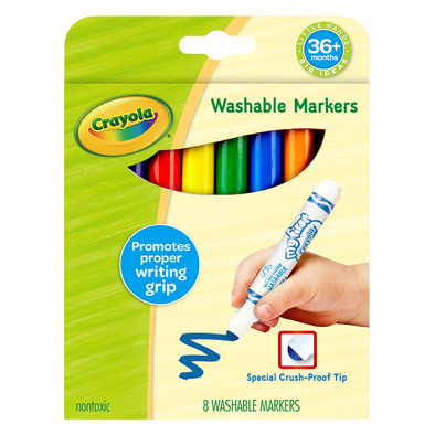 Crayola Young Kids 8CT Washable Markers