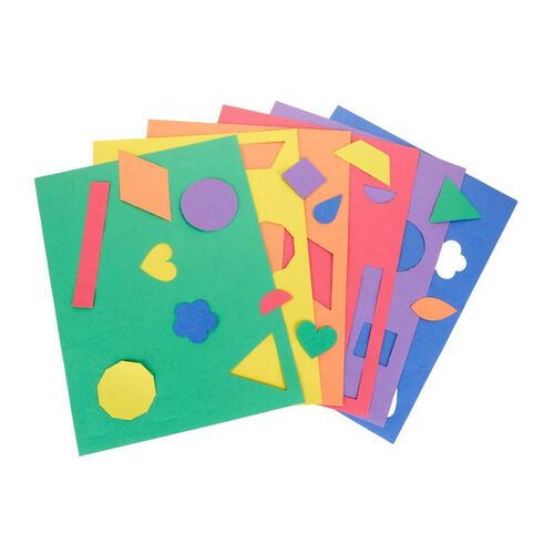 Crayola Construction Paper Shapes 48ct