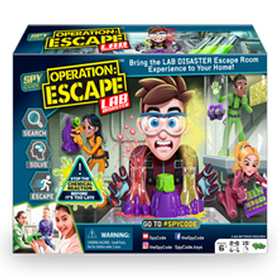 Spy Code Operation Escape Lab