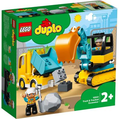 LEGO Duplo Town Truck & Tracked Excavator 10931