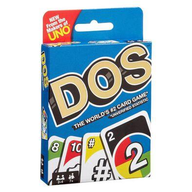 Uno DOS Card Game