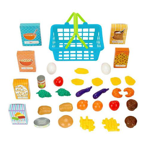 Just Like Home 35 Piece Shopping Basket