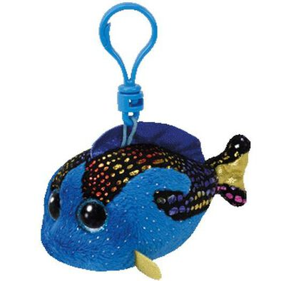 Ty 5 Inch Beanie Boos Clip Aqua The Blue Fish