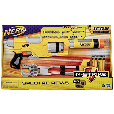 NERF N-Strike Icon Series Spectre Rev-5