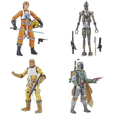 Star Wars The Black Series Greatest Hits (Boba Fett/Bossk/IG-88/Luke Skywalker Pilot) - Assorted