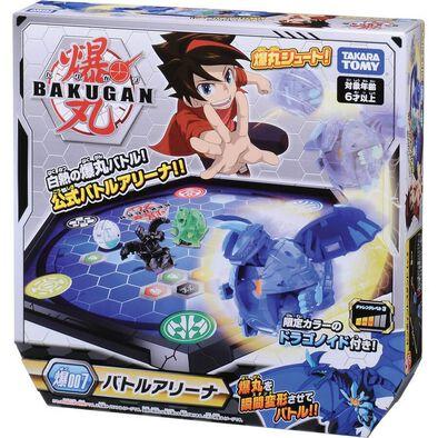 Bakugan Baku-007 Battle Arena 1B Dragonoid Blue
