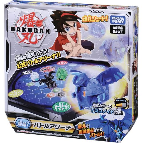 Bakugan Baku-007 Battle Arena 1B Dragonoid Blue