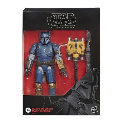 Star Wars The Black Series Heavy Infantry Mandalorian Deluxe Action Figure