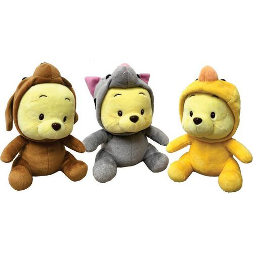 Disney 7 Inch Pooh In Dog Costume