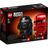LEGO Star Wars BrickHeadz Kylo Ren and Sith Trooper 75232