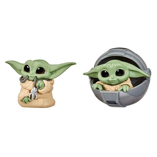 Star Wars The Bounty Collection Series 2 The Child Toys Child Pram, Mandalorian Necklace 2 Pack