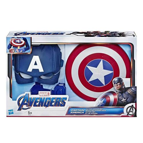 Marvel Avengers Captain America Action Armor Set