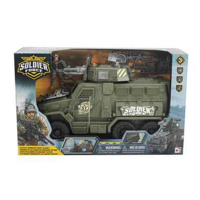 Soldier Force Tactical Command Truck Playset