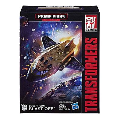 Transformers Generations Prime Wars Trilogy Collector Club Decepticon Blast Off