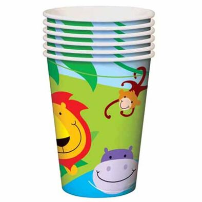 "Parties""R""Us Dinosaur 9 Oz Cups"