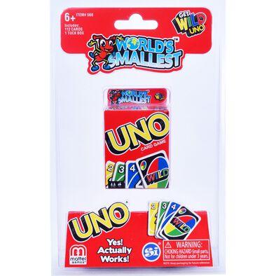 World's Smallest Uno