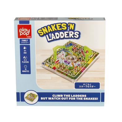 Play Pop Snakes 'N Ladders