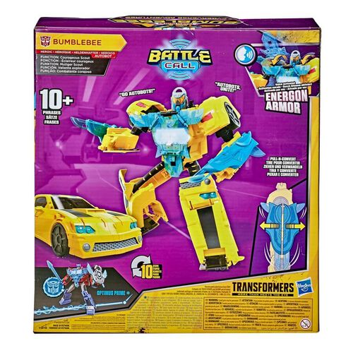 Transformers Bumblebee Cyberverse Adventures Battle Call Officer Class Bumblebee