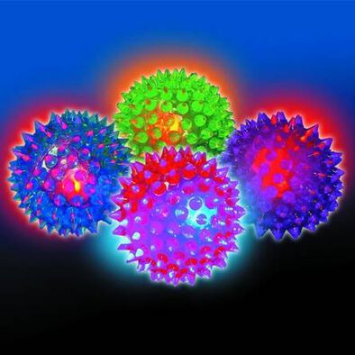 Funtastic Ball Zone Spiky Light-Up Ball - Assorted