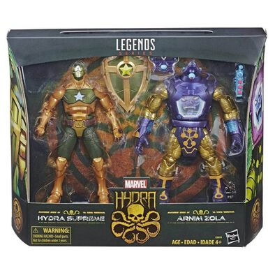 Marvel Hydra Legends Series 6 Inch Figure Hydra Supreme and Arnim Zola 2 Pack