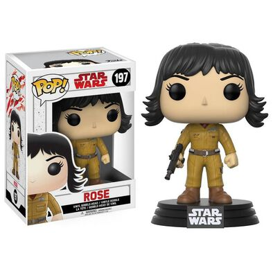 Pop! Star Wars Vinyl Bobble-Head 197 Rose