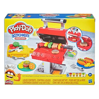 Play-Doh Kitchen Creations Grill 'N Stamp