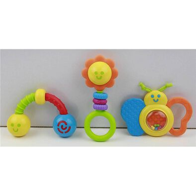 BRU Basic Rattle - Assorted
