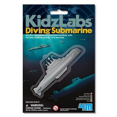 4M Kidz Labs Mini Diving Submarine