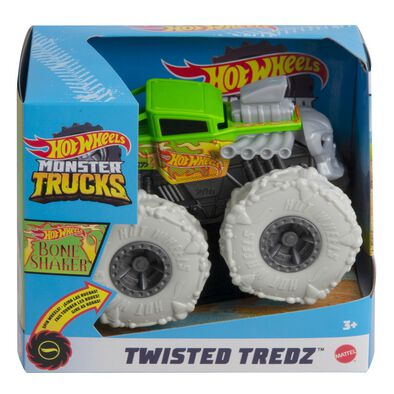 Hot Wheels Monster Truck 1:43 Scale New Rev Tredz Assorted