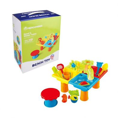 Merconser Beach Toy Sand & Water Table