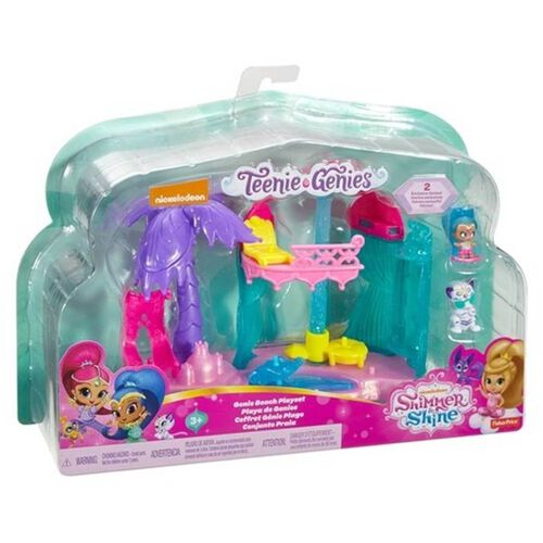 Shimmer and Shine Teenie Genies Beach Playset - Assorted