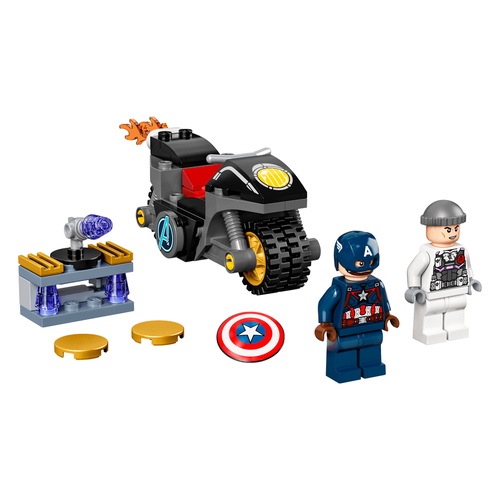 LEGO Super Heroes Captain America And Hydra Face-Off 76189