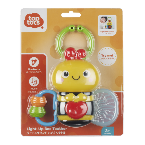 Top Tots Light-Up Bee Teether