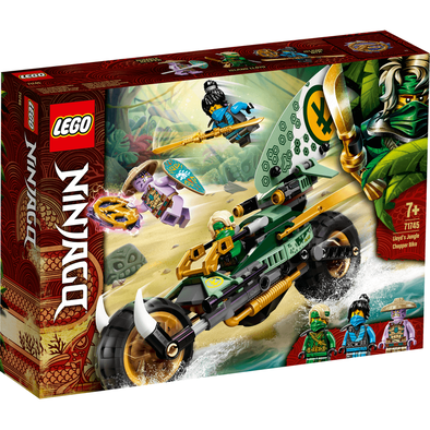 LEGO Ninjago Lloyd's Jungle Chopper Bike 71745