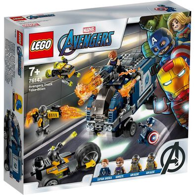 LEGO Marvel Avengers Movie 4 Avengers Truck Take-down 76143