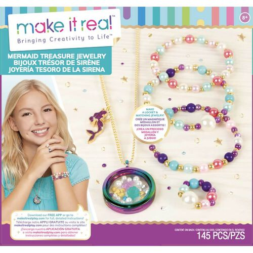 Make It Real Mermaid Treasure Jewellery
