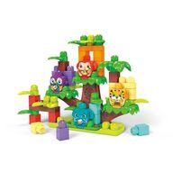Mega Bloks First Builders Jungle Treehouse Band