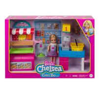 Barbie Chelsea Careers Snacks Stand Playset