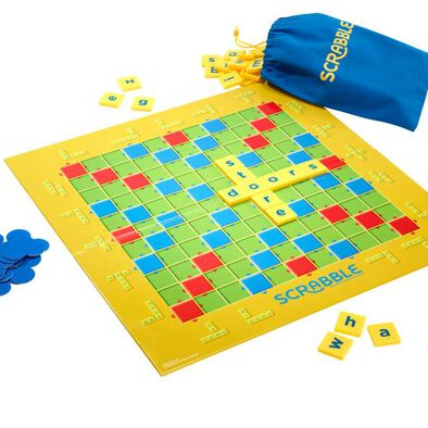 Scrabble Junior Brand Crossword Game